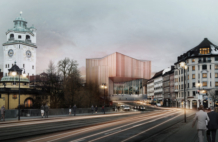 Auer Weber Among Three Finalists in Munich's Gasteig Redesign Competition, Courtesy of Auer Weber