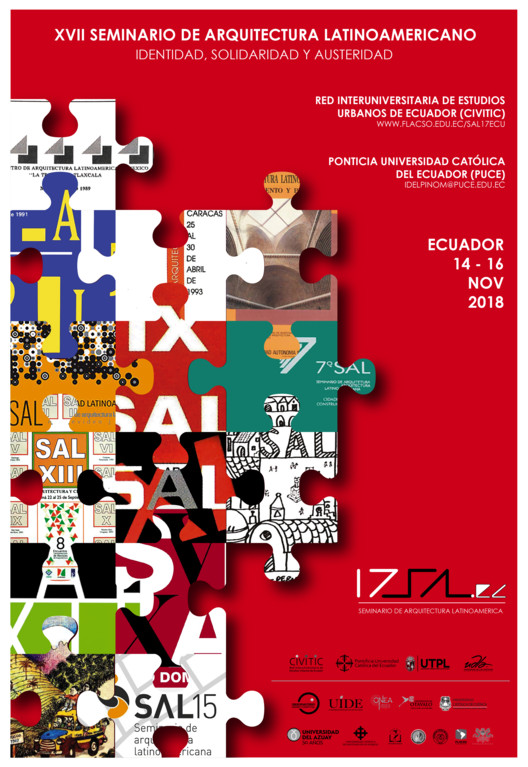 17º Seminario de Arquitectura Latinoamericana - Ecuador, PUCE-CIVITIC