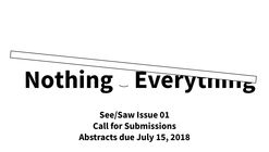 Call for Submissions: See/Saw