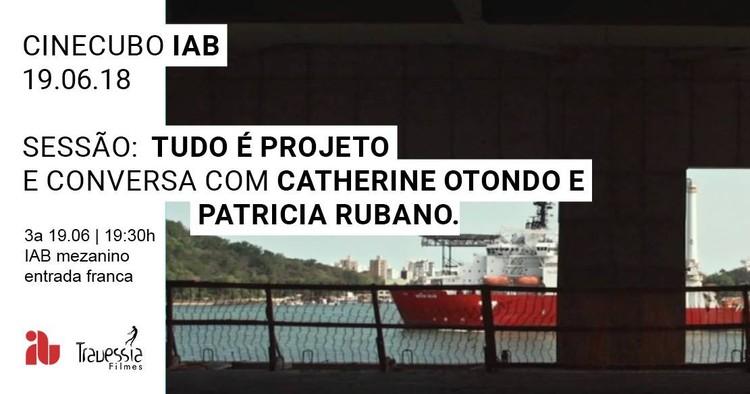 """CineCubo IAB: Tudo é projeto, Frame do filme """"Tudo é projeto"""" de Joana Mendes da Rocha e Patrícia Rubano."""