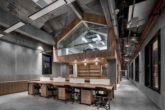 Coworking Space in Building-1. Image © ARCHEXIST