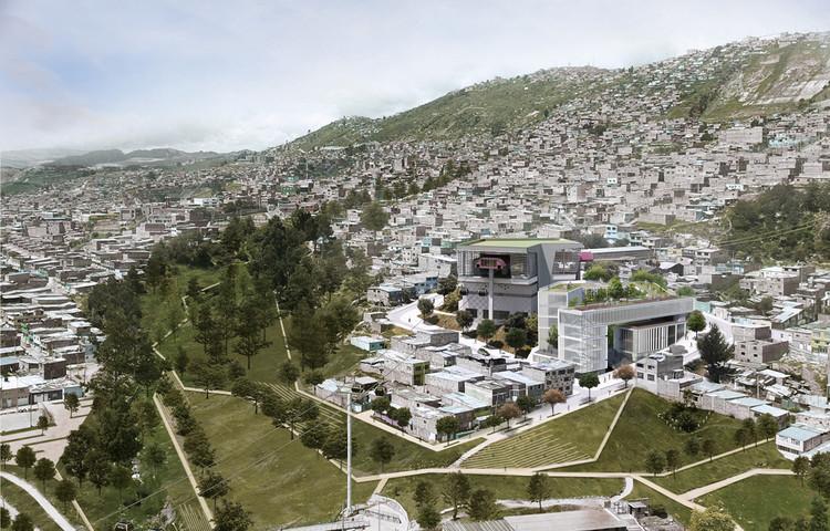 López Montoya Arquitectos, mención honrosa en concurso del futuro SuperCADE Manitas en Ciudad Bolívar, Colombia, Cortesía de López Montoya Arquitectos