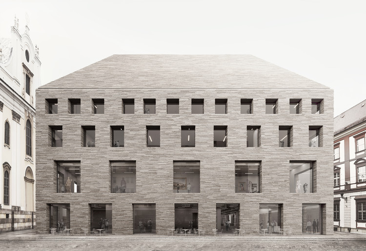 WXCA Architects' Polish Museum Proposal Wins First Prize in Open Architecture Competition, Courtesy of WXCA Architects