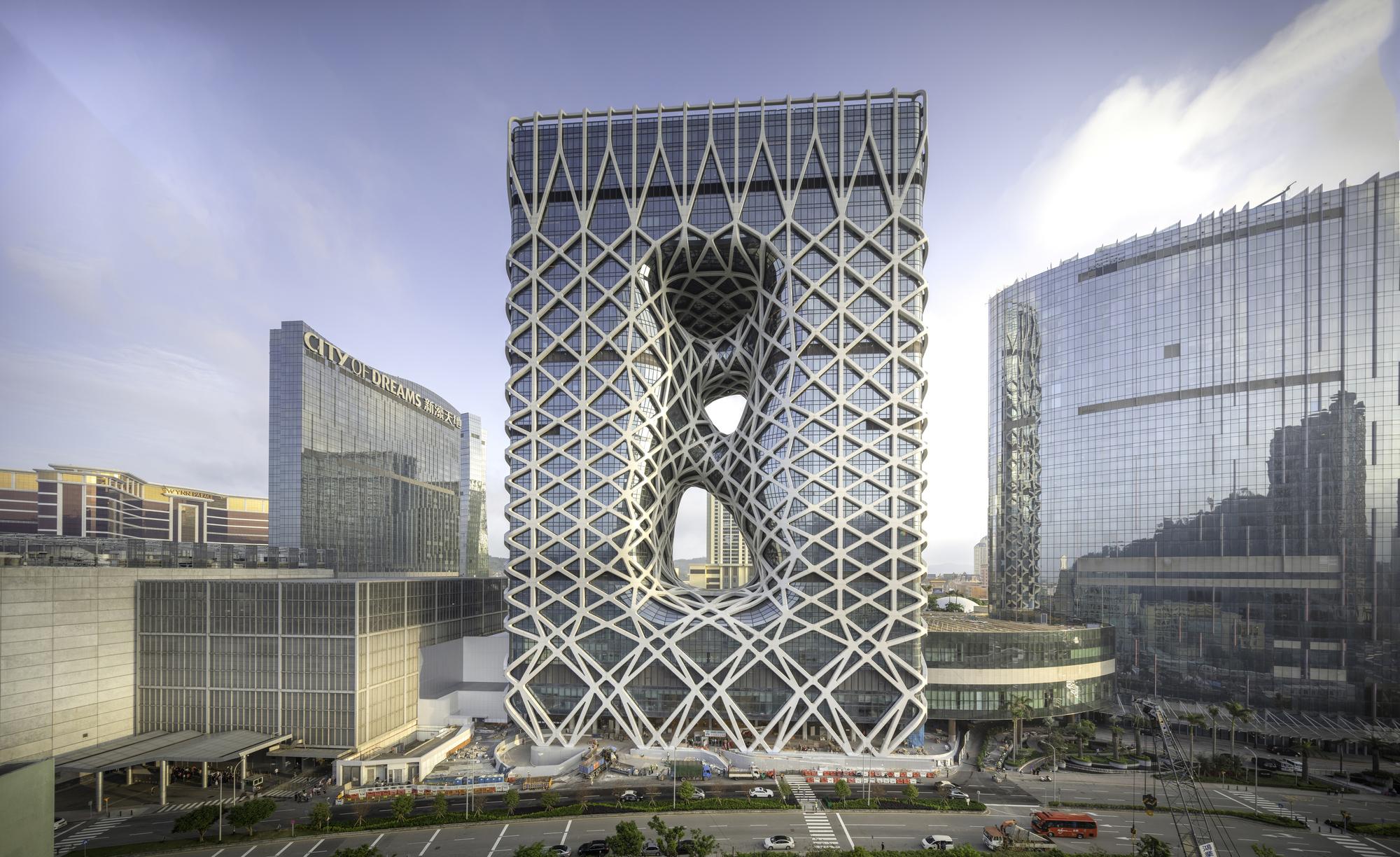 Morpheus Hotel Zaha Hadid Architects Archdaily