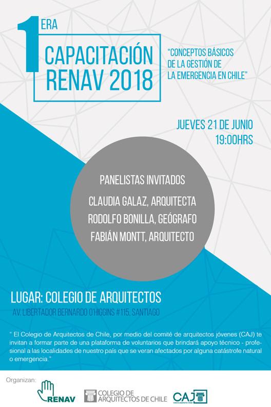 Primera Capacitación RENAV (Red Nacional de Arquitectos Voluntarios), Marcela Acevedo, Diseñadora Gráfica UDP.