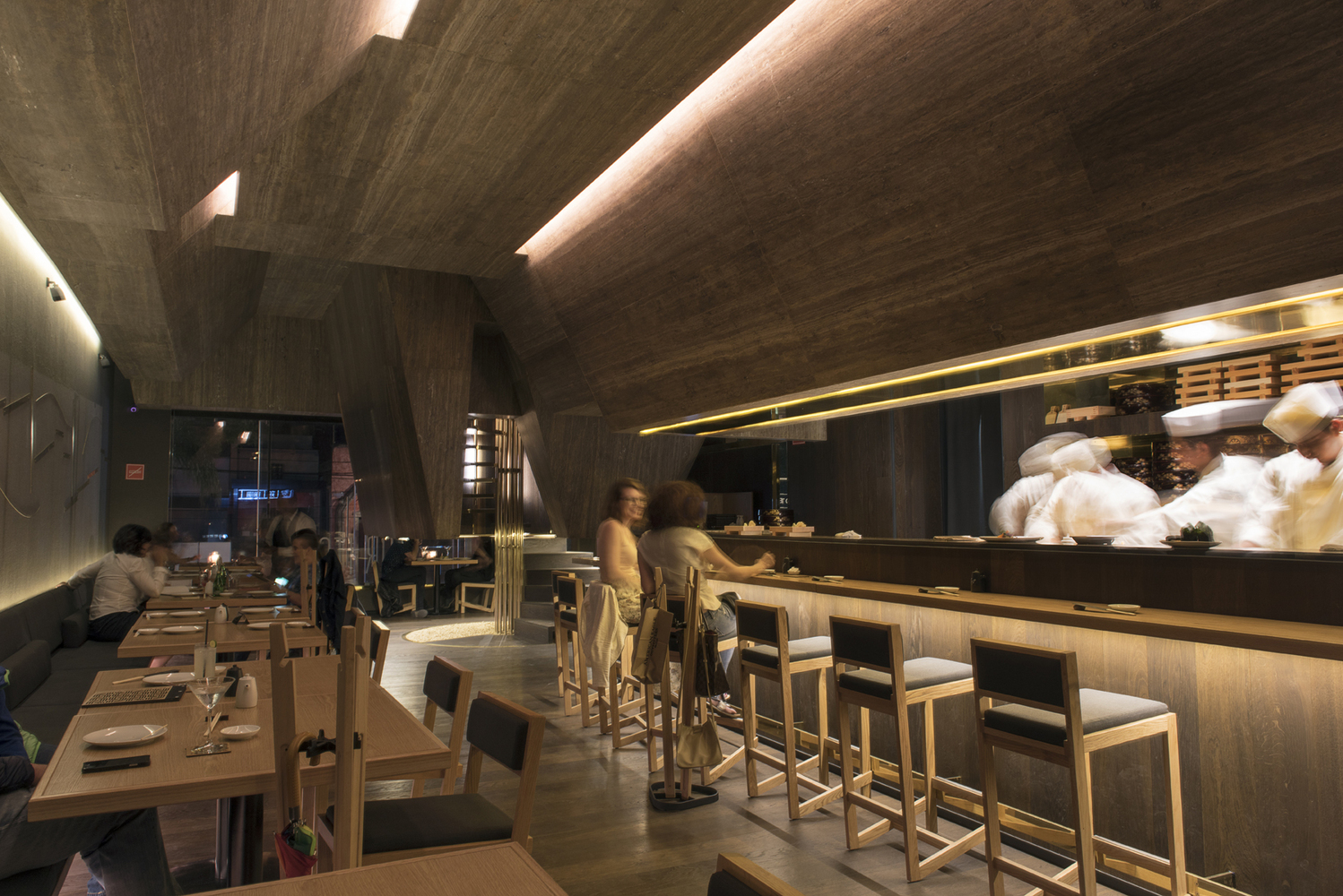 Gallery Of Sushi Bar Designs 10 Restaurant Interiors Around