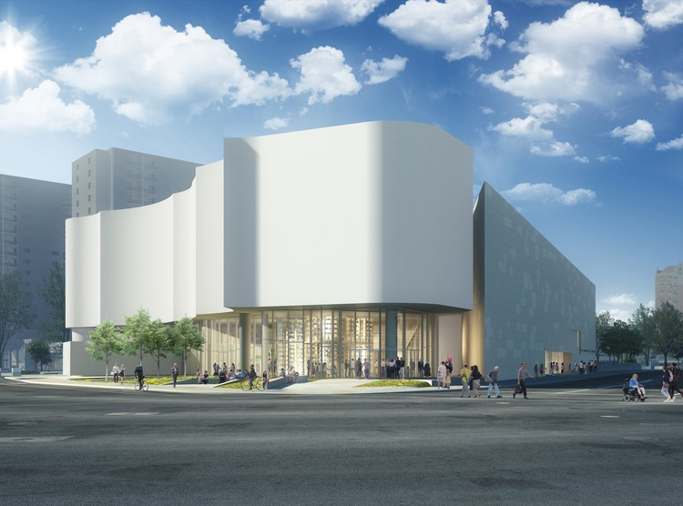 Michael Maltzan Architecture's Inuit Art Centre Breaks Ground in Winnipeg, Courtesy of Michael Maltzan Architecture