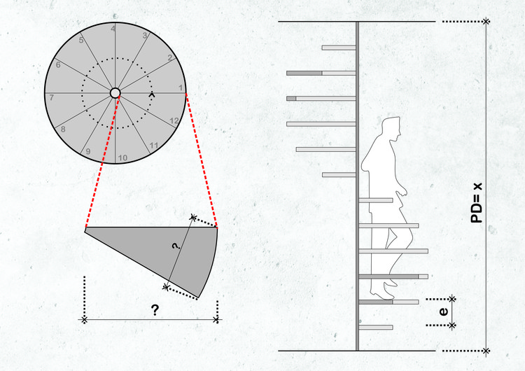 ¿Cómo calcular y proyectar una escalera helicoidal?, © Matheus Pereira
