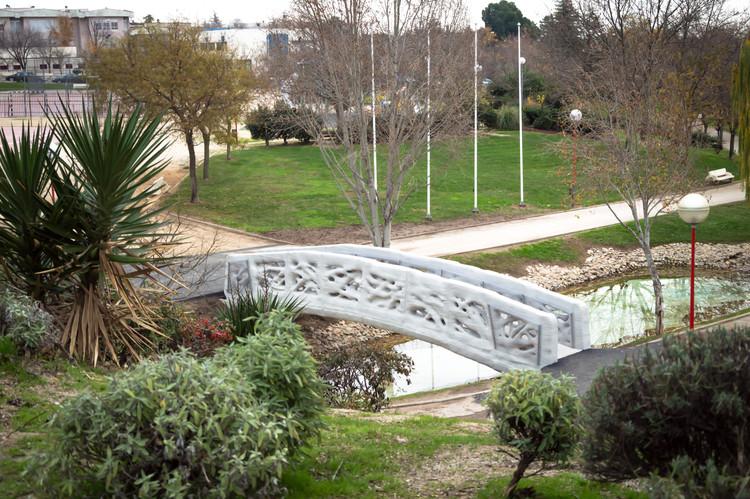 Printed Bridge. Image Cortesía de IAAC