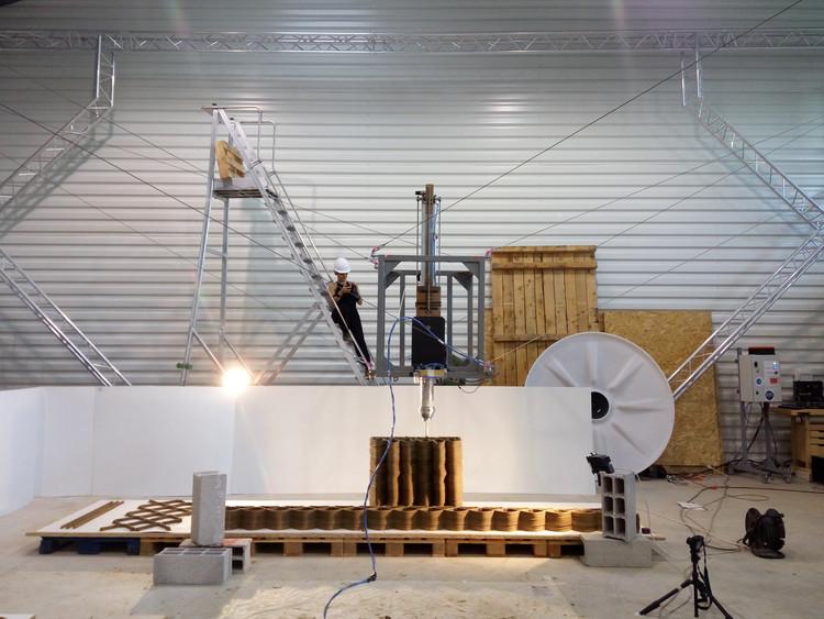 On Site Robotics. Image Cortesía de IAAC