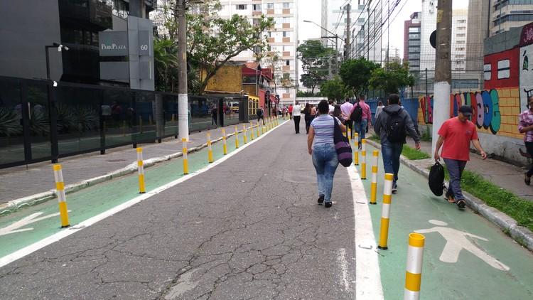 Qual o impacto da primeira Rua Completa em São Paulo?, © Cidade Ativa