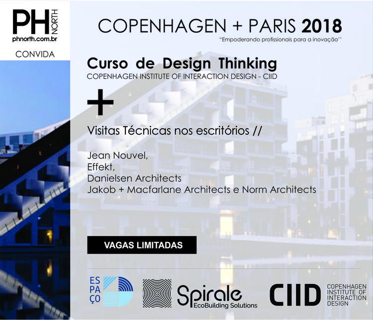 Viagem Técnica: Copenhague e Paris - empoderando profissionais para inovação, Design Thinking e Arquitetura em Copenhague e Paris