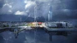 UNStudio diseña IJbaan, el primer teleférico de Amsterdam