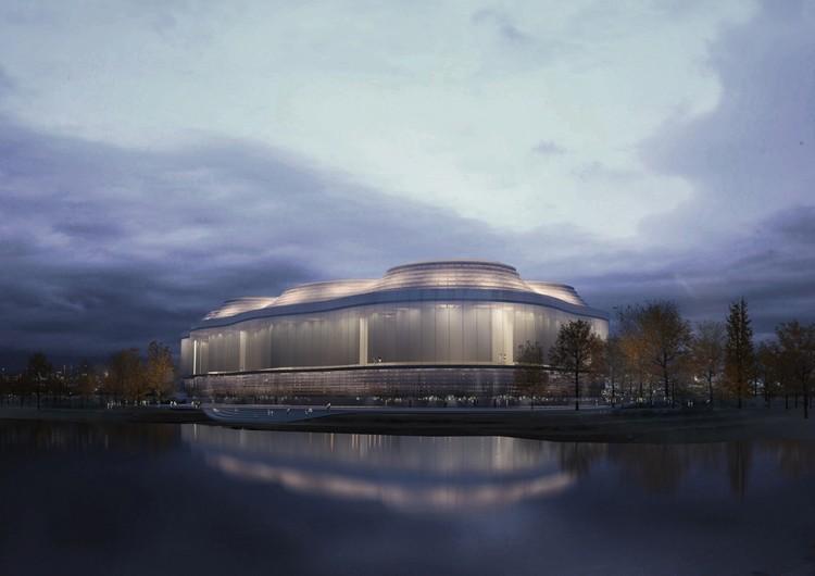 """Donghua Chen & Partners projeta uma """"ilha das ciências"""" na Lituânia, Cortesia de Donghua Chen & Partners"""