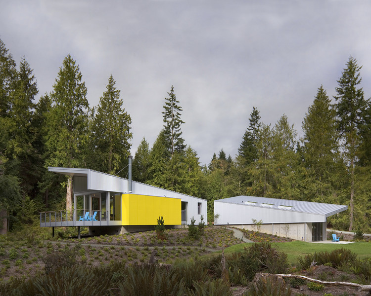 Whidbey Artists' Retreat / Prentiss + Balance + Wickline Architects, © Steve Keating