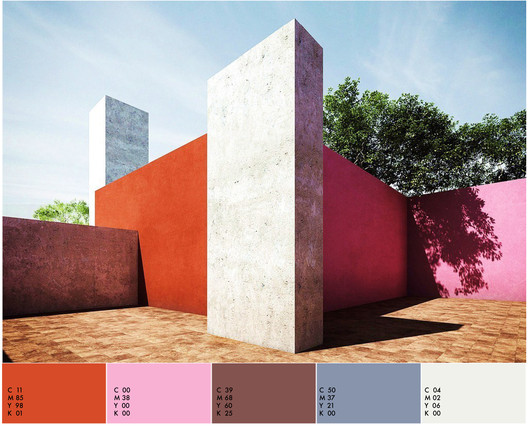 Luis Barragán House / Luis Barragán. Imagem © Flickr of LrBln
