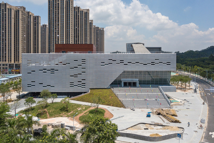 OPEN's Pingshan Performing Arts Center in Shenzhen Nears Completion, Courtesy of OPEN Architecture