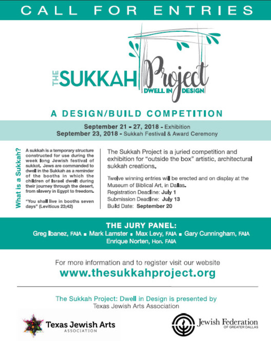 Call for Entries: The Sukkah Project-Dwell in Design design/build competition, Call for Entries: The Sukkah Project