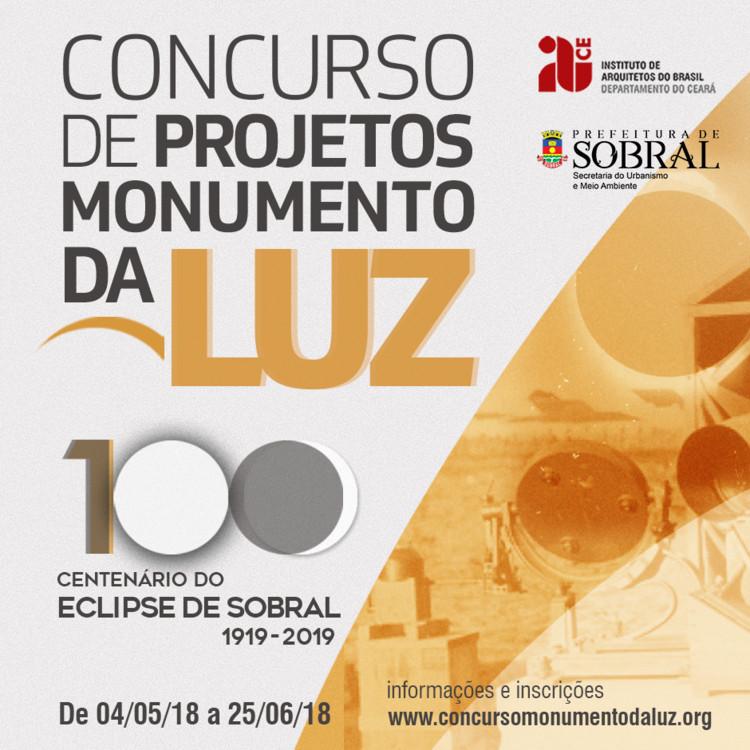 Concurso de Projetos Monumento da Luz: inscrições prorrogadas, Concurso de projetos Monumento da Luz; Imagem: IAB-CE