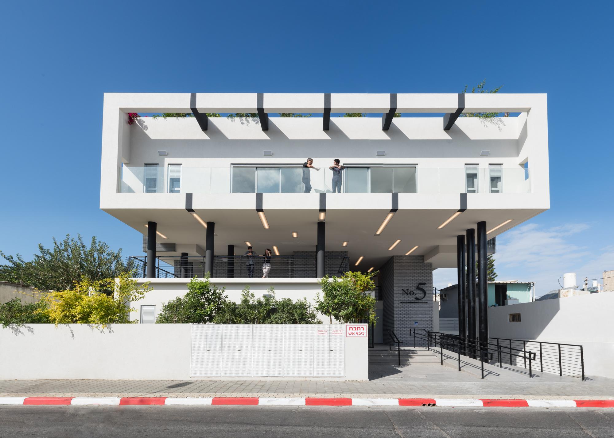 Ba'al Haakeda 5 Tel Aviv / Toam Architecture