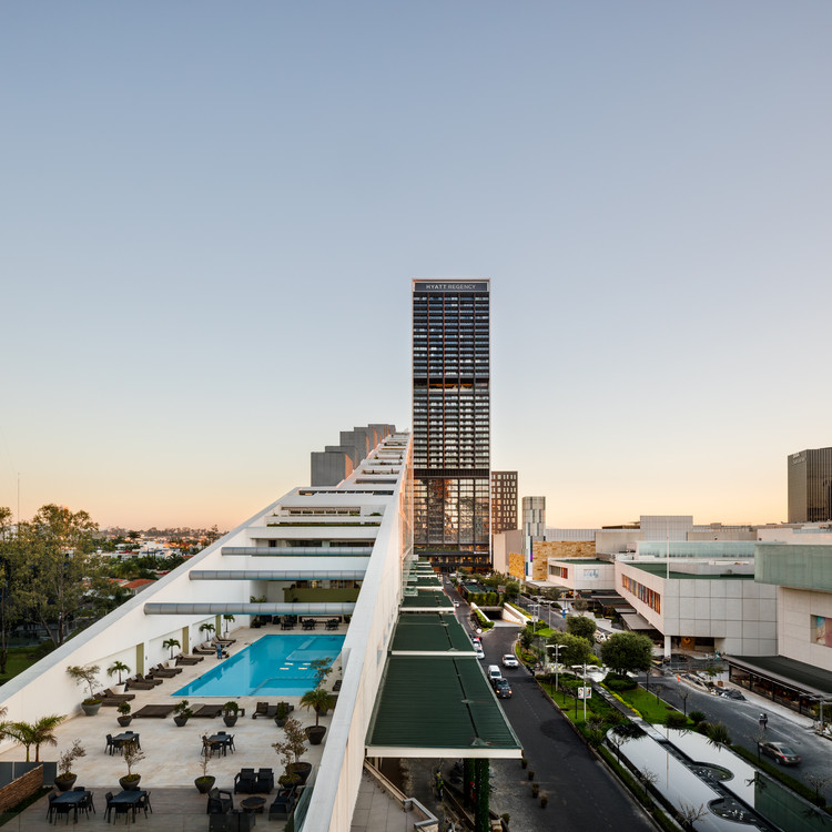 Hotel Hyatt Regency Andares / Sordo Madaleno Arquitectos, © Rafael Gamo