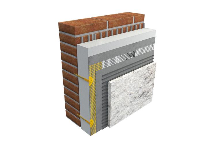 Conheça o EIFS, sistema de isolamento térmico exterior, Cortesía de STO