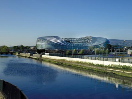 Aviva Stadium, Dublin by Populous. Image © Scott Tallon Walker