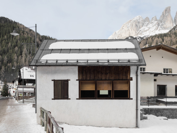"Restoration of the ""Casino di Bersaglio"" / weber+winterle architects, © Davide Perbellini"