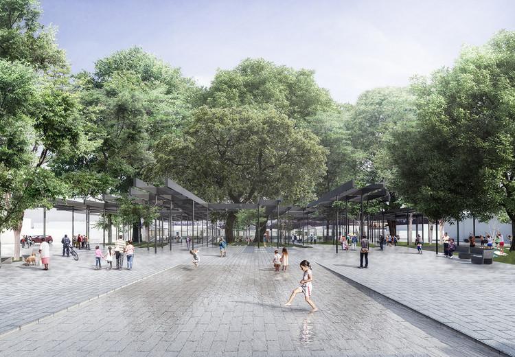 El Taller de Arquitectos diseñará remodelación del espacio público de La Tebaida, Colombia, Plaza Nueva. Image Cortesía de El Taller de Arquitectos