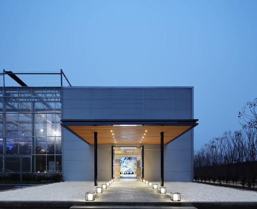 Entrance. Image © Lin Cong