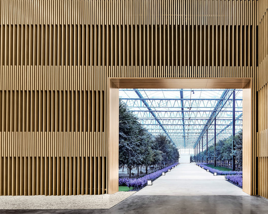 Multiple Function Room Entrance. Image © Lin Cong