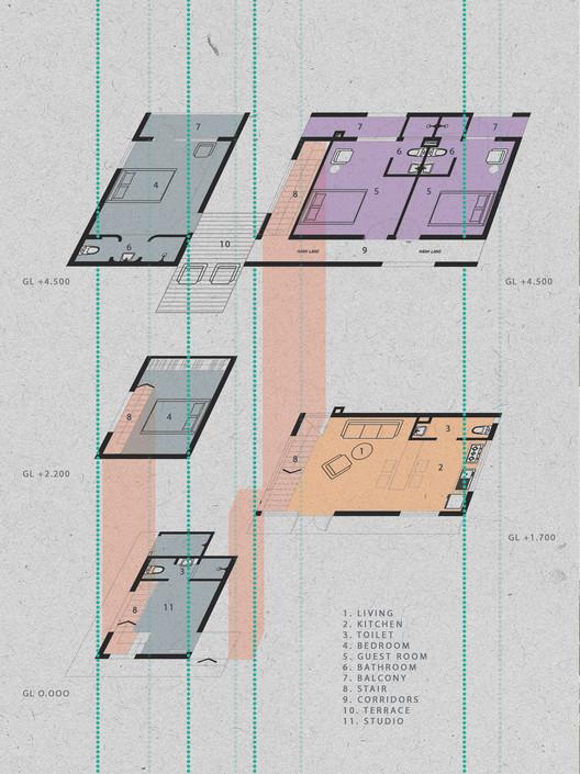 Axonometric plans