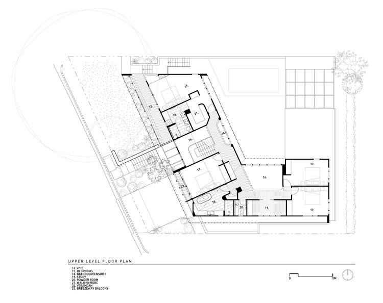 Brisbane City Courtyard House Kelder Architects