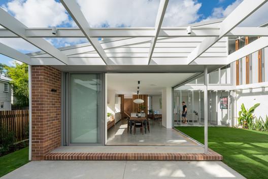 Brisbane City Courtyard House / Kelder Architects