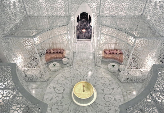 Royal Mansour Spa. Image Courtesy of Royal Mansour Hotel Management