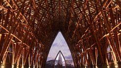 El bambú colombiano según Simón Vélez y Marcelo Villegas: montajes, conexiones y soportes estructurales