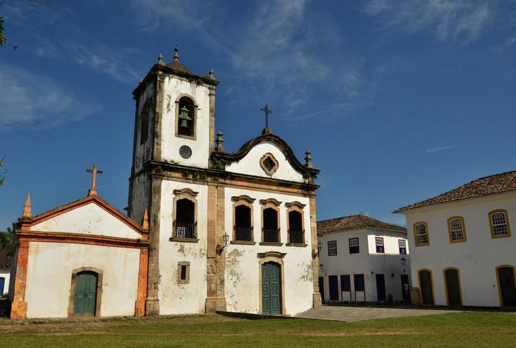 CAU/BR reivindica salário mínimo profissional para arquitetos no concurso do Iphan, Igreja de Santa Rita de Cássia, Paraty, RJ. Image © Rodrigo Soldon, via Flickr. Licença CC BY-ND 2.0
