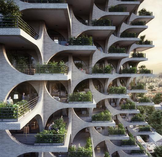 Terrazas De Edificios Altos