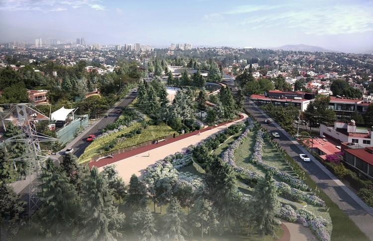 Parque Linear HXQ: proposta busca integrar os parques do Estado do México, © RA!