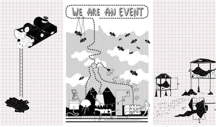 We Are an Event, pensar las ciudades a partir de ficciones arquitectónicas, © We are an event