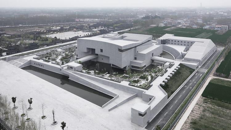 Shangqiu Museum / Atelier Li Xinggang, South East Aerial View. Image © Zhi Xia