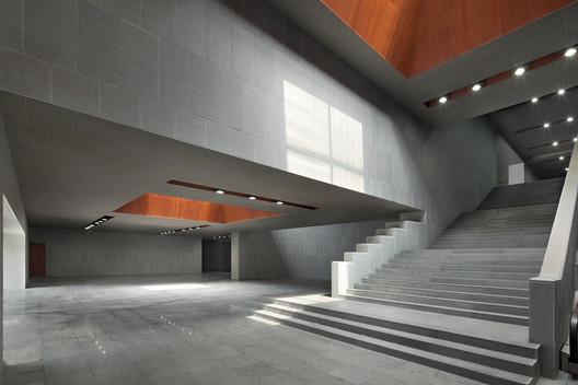 Xuyan Hall Entrance. Image © Zhi Xia