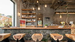 Cafe that Resembles Jeju Island / STARSIS