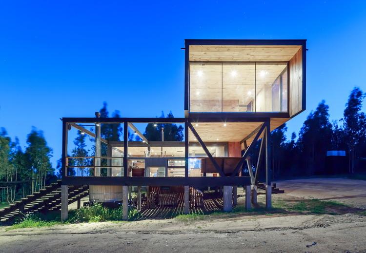 Harfagar House / WMR Arquitectos, © Sergio Pirrone
