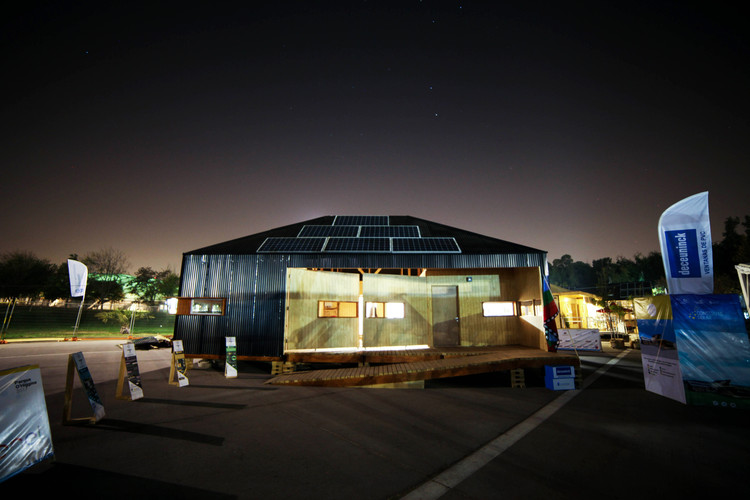 Construye Solar 2019 inicia nueva edición enfocada en la innovación y el uso de BIM, Construye Solar 2017: Proyecto Wallmapu / Universidad Mayor. Image © Construye Solar