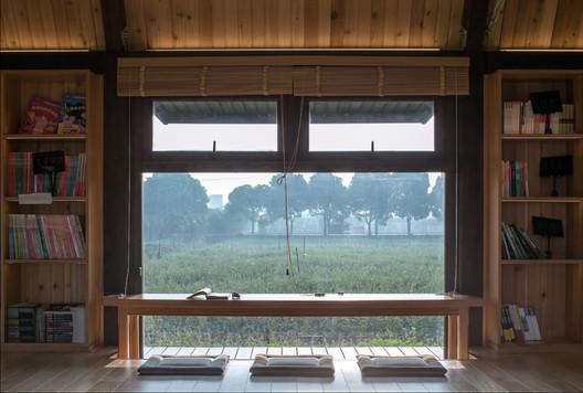 Views through window of library. Image © Yong Zhang