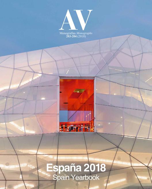 España 2018 / AV Monografías 203 - 204, Cubierta Cover. SelgasCano, Palacio de Congresos, Plasencia (Cáceres). Image © Iwan Baan