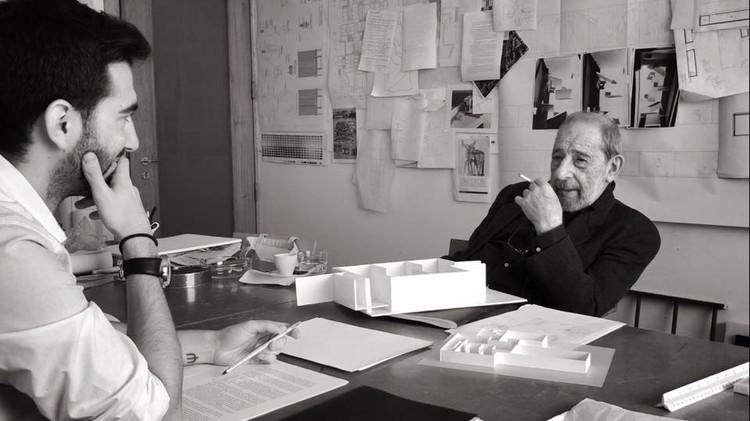 Alvaro Siza: 'El dibujante de sueños', Cortesía de Raúl García García