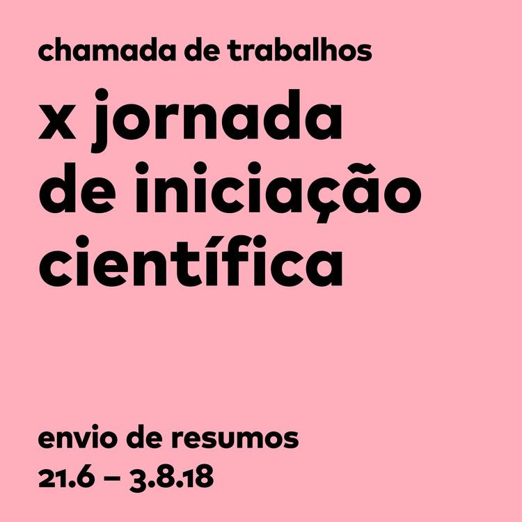 X Jornada de Iniciação Científica – Chamada de trabalhos - Escola da Cidade, A X Jornada de Iniciação Científica acontece nos dias 30 e 31 de outubro. A submissão de trabalhos para apresentação será aceita até 03 de agosto.