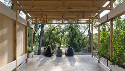 This Crowdsourced and Crowdfunded Pavilion in Ukraine Embodies the Collaborative Spirit